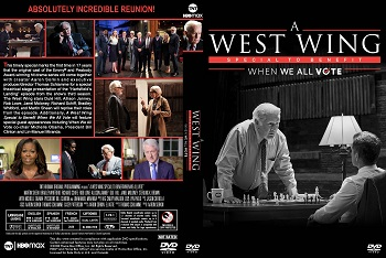 A West Wing Special dvd cover
