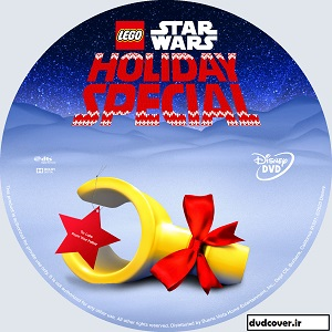 The Lego Star Wars Holiday Special dvd lable