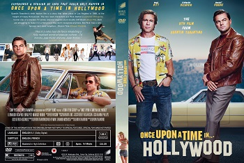 Once Upon a Time in Hollywood dvd cover،کاور Once Upon a Time in Hollywood